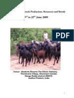 Report of Livestock Training CBM1