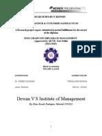 Consumer behavior & Customer Satisfaction towards ICICI Prud.doc