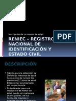 RENIEC – Registro Nacional de Identificación y Estado