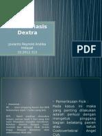 Nefrolithiasis Dextra