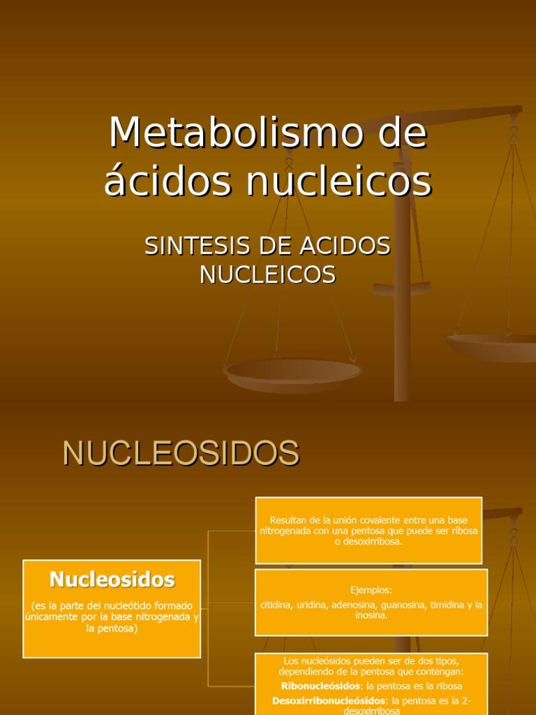 Metabolismo y nutricion medicamento