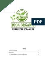 Productos Organicos i