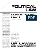 UP 2012 Political Law (Constitutional 1)