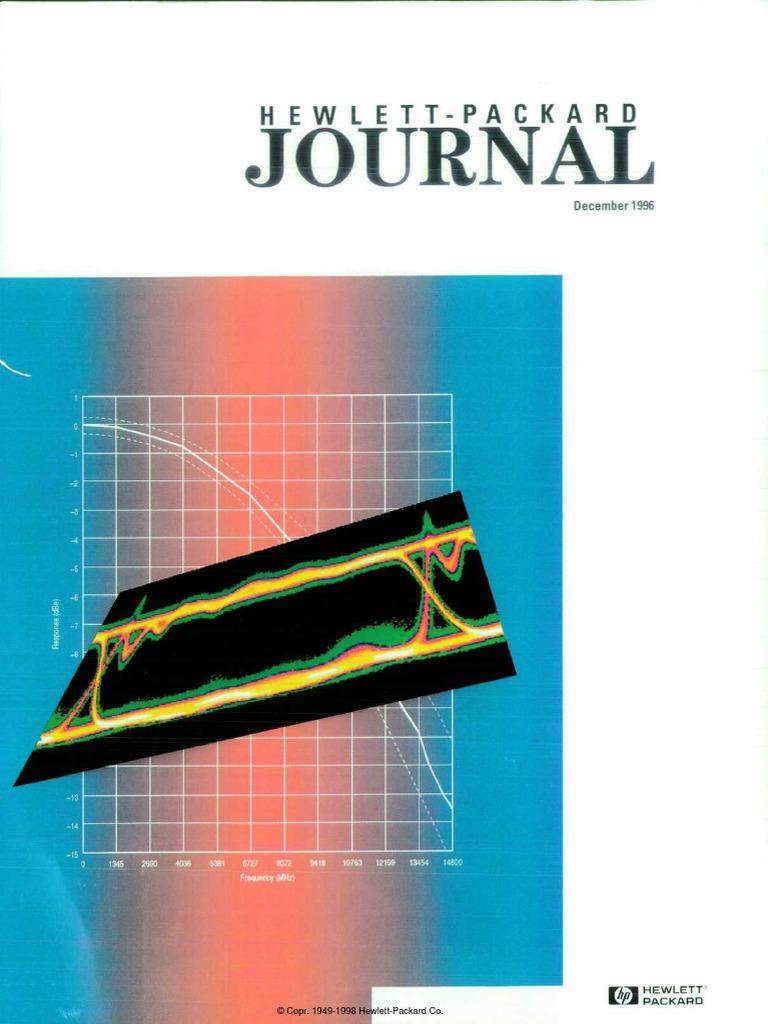 1996-12 HP Journal | Hewlett Packard | Fiber Optic Communication