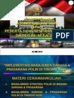 CERAMAH SESPIM 2015