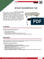 Masina de Pliat a0 Eurofold 1100 Z Spot Media SRL