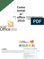 Instalacion De office 2010