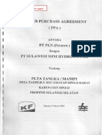 Power Purchase Agreement - PLN