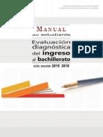Manual Del Estudiante 2015 2016