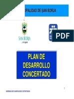 Plan de Desarrollo Concertado San Borja 30-05-2012