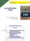 bahan kuliah Sifat-Sifat Kimia Tanah, Unpad