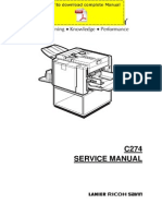 RICOH DX-2330 DX-2430 Service Manual Pages