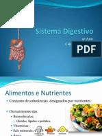 (7) - 2008 - 2009 - 9º Ano - Organismo em Equilíbrio - Sistema Digestivo