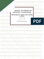 Instalación de Software de Aplicación y Compresores