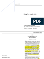 Diseño en Italia