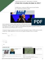 Journal_Coupe Du Monde _ Les Etats-Unis à La Place Du Qatar en 2022 _ - Coupe Du Monde 2014 - La Voix Du Nord