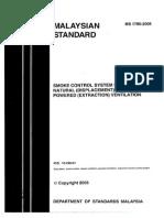 MS1780 2005 SMOKE CONTROL SYSTEM