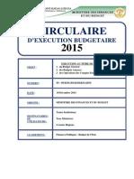 Circulaire Budgétaire 2015