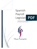 Manual Spanish Payroll Legislation
