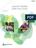 World Bank - Malaysia Economic Monitor - MiddleClassSociety - Dec 2014