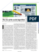 The Rise of the Social Algorithm