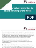 Las 5 mejores herramientas de analítica web para tu hotel