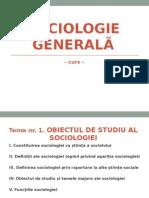 Sociologie Generală