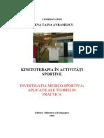 Kinetoterapia in Activitati Sportive