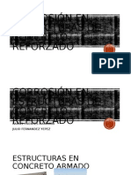 Corrosión en Estructuras de Concreto Reforzado