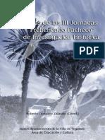 Actas III Jornadas Prebendado Pacheco Javier Luis Alvarez Santos-libre