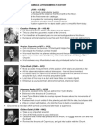 astronomers in history info sheet