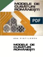 Modele de Cusaturi Romanesti - Ana Pintilescu