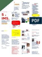 Brosur Hiv, Aids & Ims