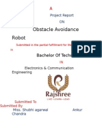 Obstacle Sensing Robot Report