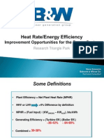Presentation on Heat Rate Improvement