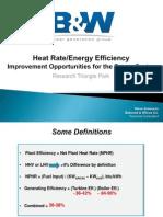 Presentation on Heat Rate Improvement
