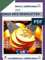 Mcx Commodity News 05 Jun 2015