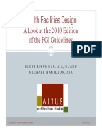 Health Facilities Design 2010 FGI Guidelines