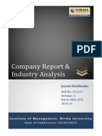 Company & Industry Report