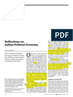 Bardhan-Reflections on Indian Political Economy