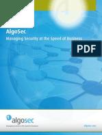 Algosec Suite Brochure