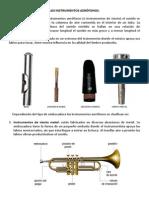 Los Instrumentos Aerófonos