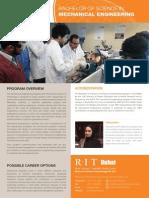RIT Dubai Bachelor Mechanical-Engeering