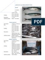 seafood listing