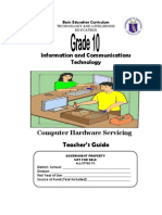 TLE-ICT-Computer Hardware Servicing Grade 10 TG