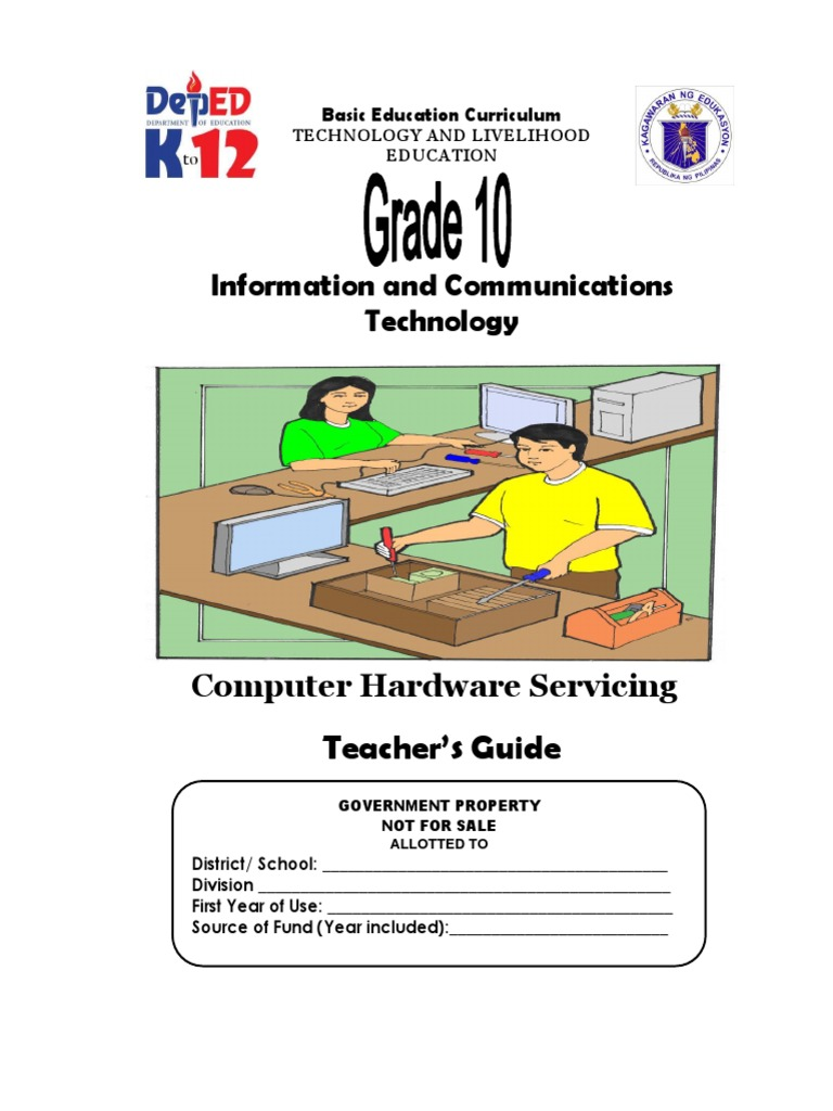 tle ict computer hardware servicing grade 10 tg entrepreneurship