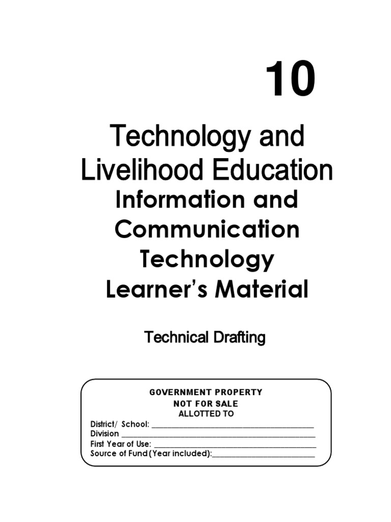 TLE ICT Technical Drafting Grade 10 LM