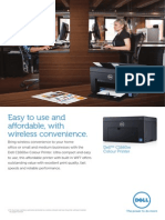 Dell C1660w Printer Brochure