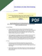 Informasi Beasiswa Sudan