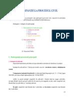 Curs 3 Procedura Civila Participanţii La Procesul Civil